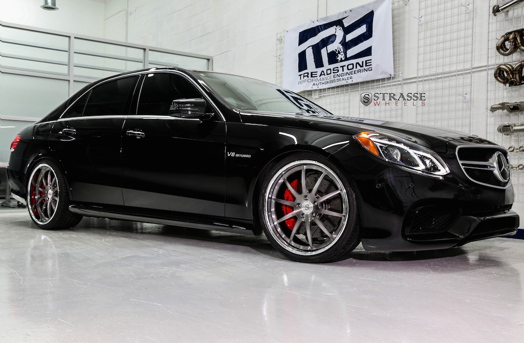 Strasse Wheels - Mercedes Benz E63 AMG-S