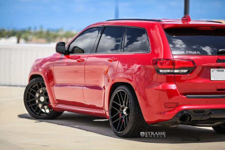 Strasse Wheels - Jeep Grand Cherokee SRT - SM7 Deep Concave 6