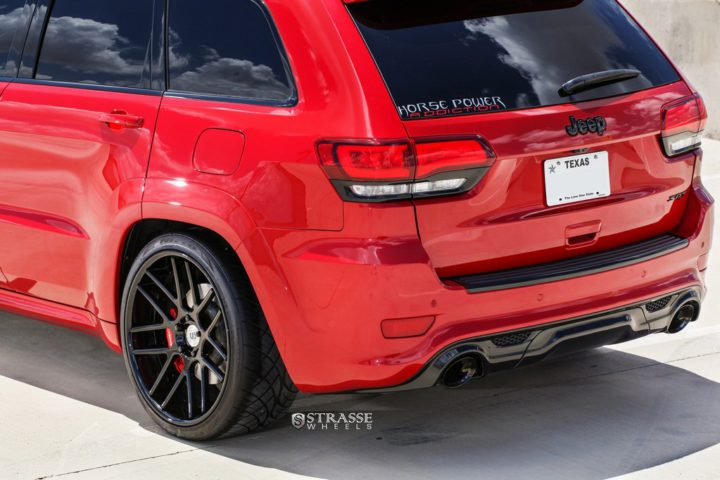 Strasse Wheels - Jeep Grand Cherokee SRT - SM7 Deep Concave 9