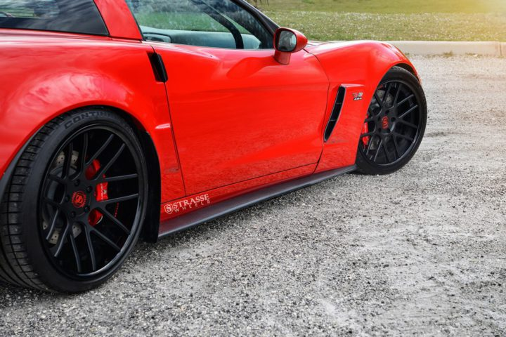 Strasse Wheels Twin Turbo Corvette Z06 10