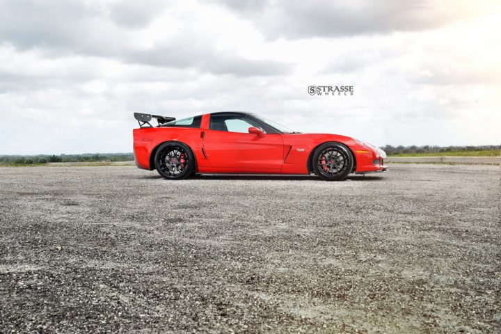 Strasse Wheels Twin Turbo Corvette Z06 8