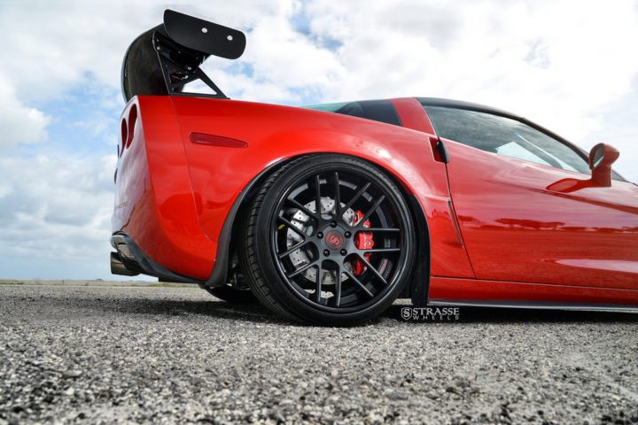 Strasse Wheels Twin Turbo Corvette Z06 9