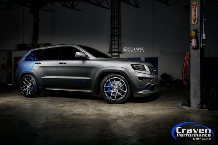 Strasse Wheels Supercharged Jeep SRT 7