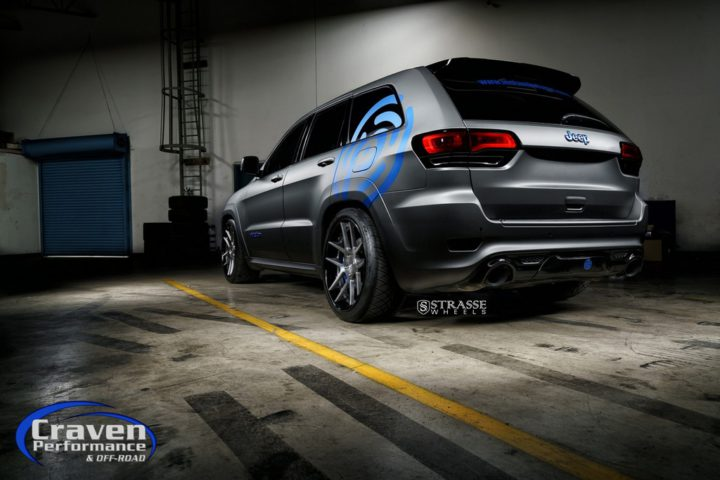 Strasse Wheels Supercharged Jeep SRT 8
