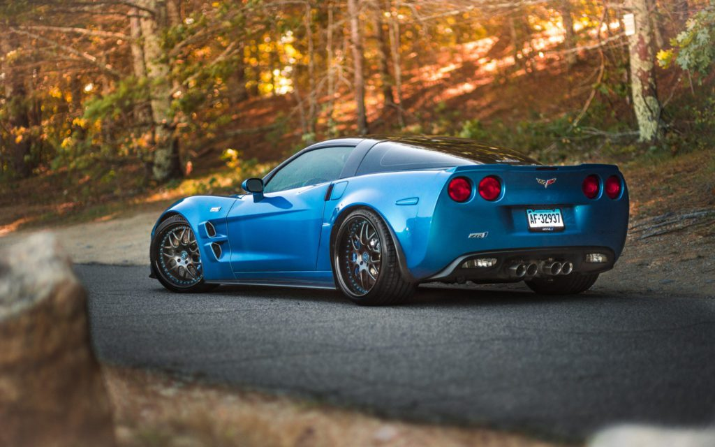 Chevrolet Corvette C6 Zr1 Sv8 Signature Series Strasse Wheels