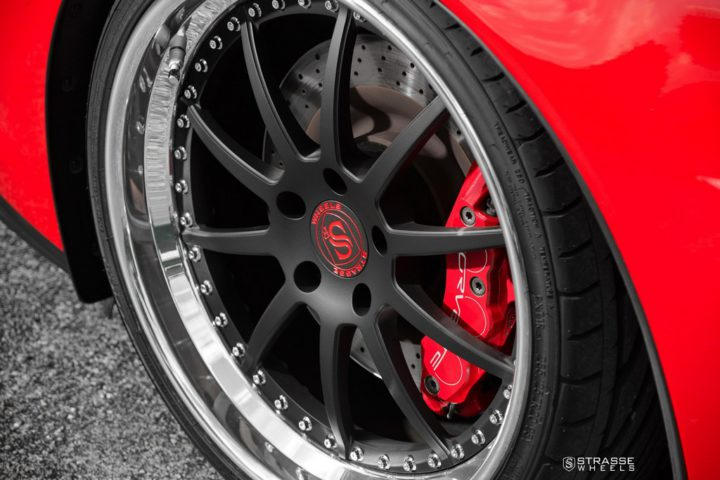Strasse Wheels Red C6 Z06 R10 10