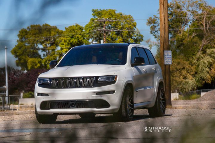 "Strasse Wheels - Jeep Grand Cherokee SRT - 22"" SM7 Deep Concave Wheels 7"