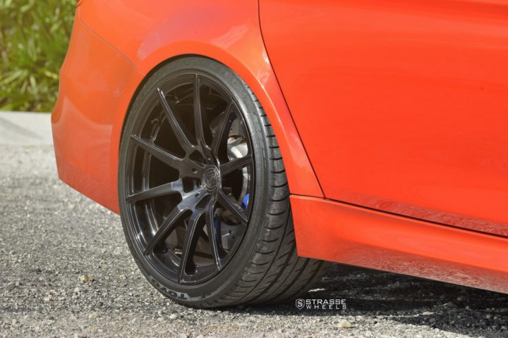 Strasse Wheels Sakhir Orange BMW M3 12