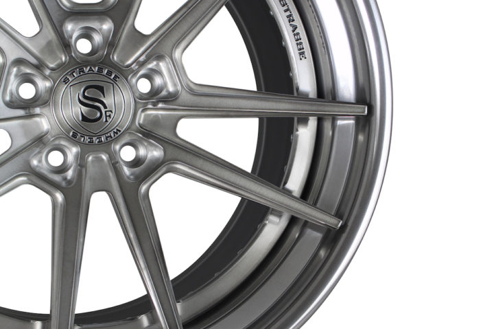 SV1 Deep Concave FS - Brushed & Polished Titanium 3