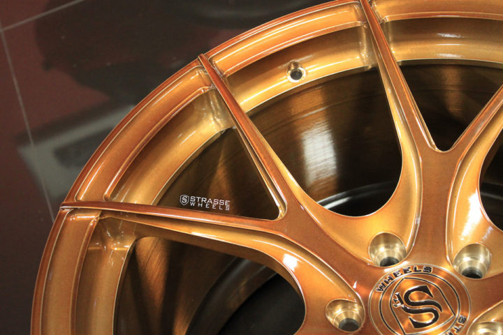 SM5R Deep Concave Monoblock - Gloss Brushed Bronze 9